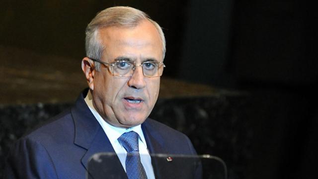 Former Lebanese president Michel Suleiman (Photo: EPA)