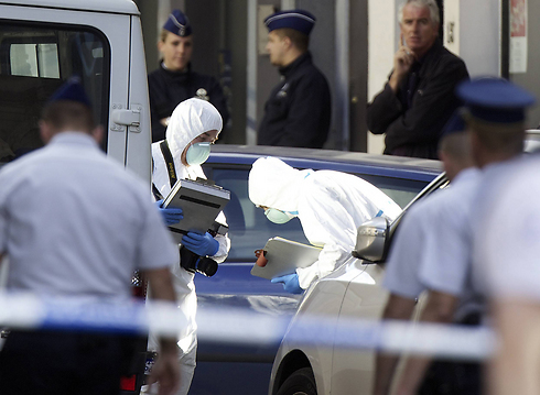 Security forces after the deadly attack at Jewish Museum in Brussels (Photo: AFP)