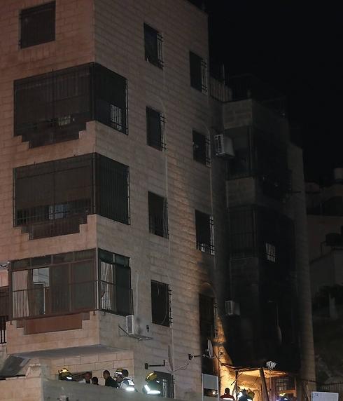 עוד פיצוץ גז. הבניין בבית חנינא (צילום: גיל יוחנן)