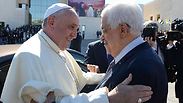 Pope Francis and President Abbas Photo: Reuters