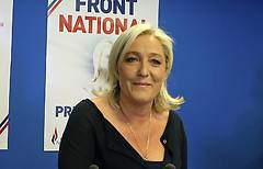 National Front leader Marine Le Pen Photo: AP