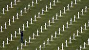 The Normandy American Cemetery and Memorial at Colleville sur Mer Photo: Reuters