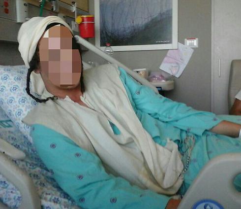 The wounded haredi teen (Photo courtesy of Honenu)