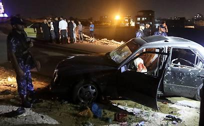 Aftermath of Israeli airstrike (Photo: AP) (Photo: AP)