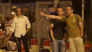 Hitchhiking post in Gush Etzion Photo: Alex Kolomoisky, Yedioth Ahronoth