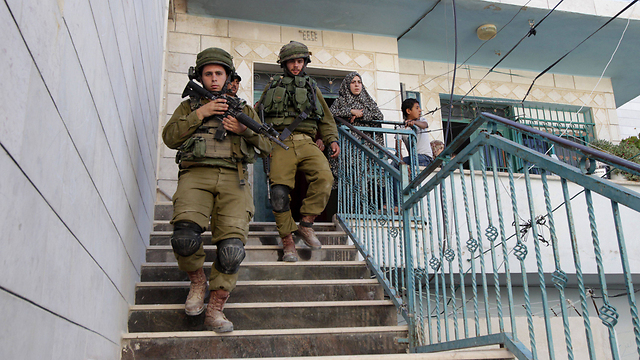 IDF forces in the West Bank (Photo: AFP)