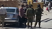 IDF soldiers imposing a closure on Hebron Photo: Barel Efraim