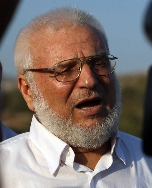 Aziz Duwaik, 66, was arrested in his home in Hebron (Photo: AFP) Photo: AFP