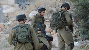 IDF forces near Hebron Photo: IDF Spokesperson's Unit