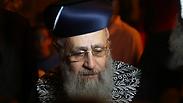 Chief Sephardic Rabbi Yitzhak Yosef Photo: Motti Kimchi