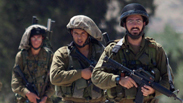 IDF forces in the West Bank Photo: EPA