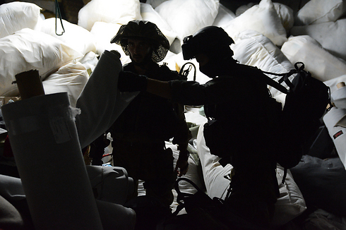 IDF forces in Nablus (Photo: IDF) Photo: IDF Spokesperson's Unit