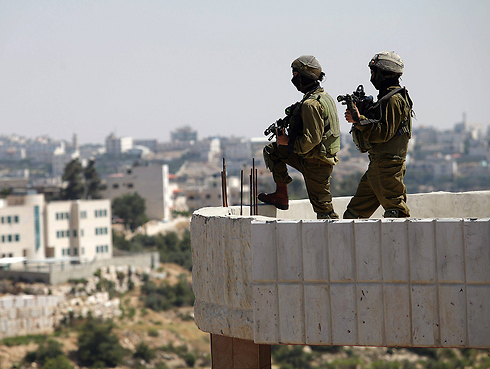 IDF forces in the West Bank (Photo: EPA)
