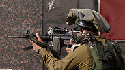 IDF activity in the West Bank Photo: AP