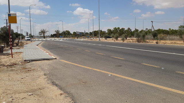 The area the terrorist infiltrated to (Photo: Roee Idan)