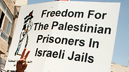 Protest for Palestinian prisoners Photo: Shuttershock