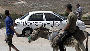 IDF claim this is not the first time Palestinians have used such animals to attempt and kill IDF for Photo: AFP