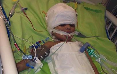 Rakeb in hospital