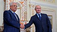 Abbas and Putin meet Photo: EPA