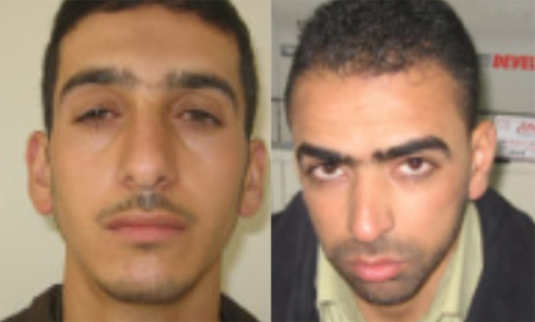 Marwan Kawasmeh (left) and Amar Abu-Eisha, suspected of playing a central role in teens' kidnapping.