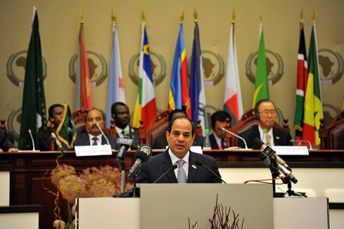 Egyptian President al-Sisi (Photo: EPA)