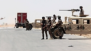 Jordan-Iraq border Photo: AFP