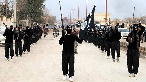 Islamic State forces in Iraq (Photo: AP)