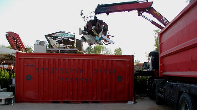 פסולת אלקטרונית: 130 אלף טון בשנה בישראל (צילום: אדם טבע ודין)