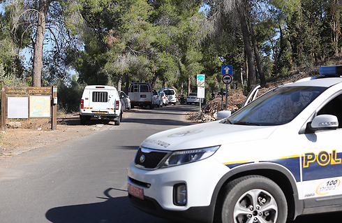 Boy's body found. Jerusalem Forest (Photo: Gil Yohanan)