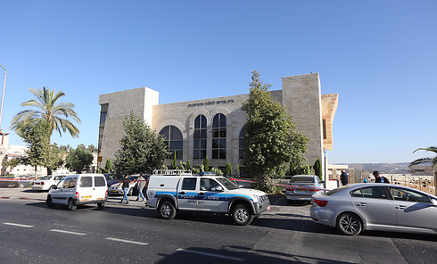 Mosque where teen was allegedly taken from (Photo: Gil Yohanan)