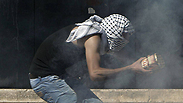 Clashes in Shuafat Photo: AFP