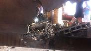 Building in Sderot hit by rocket
