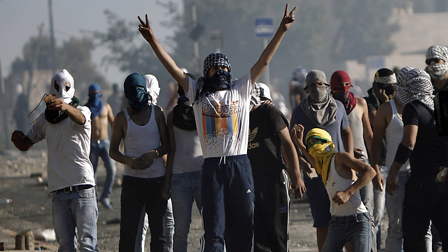 Jerusalem roits (Photo: AP)