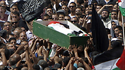 The funeral of Abu Khdeir Photo: AFP