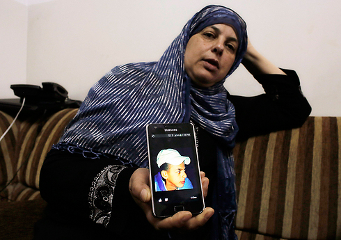 Mohammad Abu Khdeir's mother (Photo: Reuters)