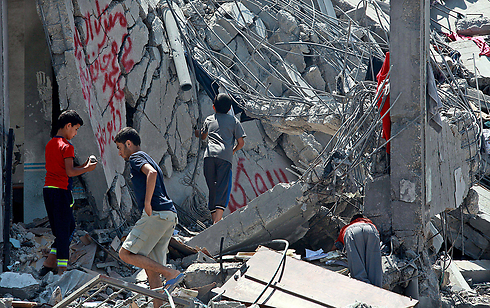 Devastation in Gaza (Photo: EPA)
