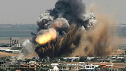 IAF attacks in Gaza: At least one killed Wednesday Photo: AP