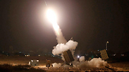 Iron Dome launcher interceptor missile Photo: Reuters