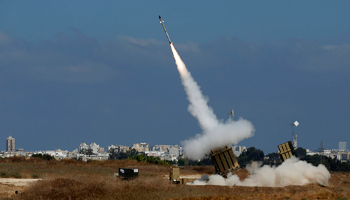 Iron Dome launchers interceptor in Ashdod (Photo: Reuters)