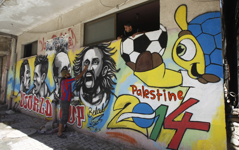 World Cup vs. Palestinian (Photo: AFP)