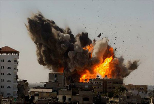 IAF attack on Gaza strip