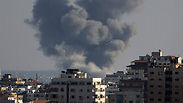 IAF strikes in Gaza Photo: AFP