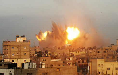IAF strike on Gaza (Photo: AFP) (Photo: AFP)