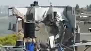 Destroyed home of Hamas rocket unit head