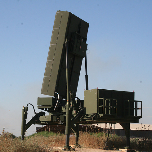 Eighth Iron Dome missile defense battery (Photo: Defense Ministry)  (Photo: Israeli Ministry of Defense)