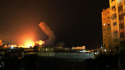 IAF attacks in Gaza Photo: EPA