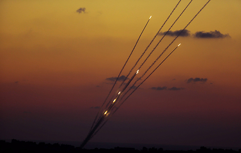 Gaza rocket fire on Israel (Photo: EPA)