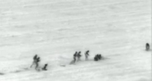 Hamas men attempt to enter Israel (Photo: IDF)