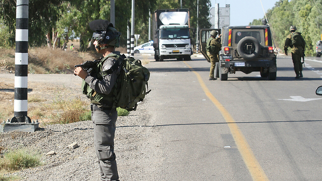 Security incident in the south (Photo: Ido Erez)