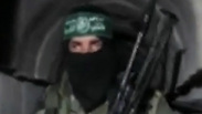 Hamas fighter in Gaza tunnel